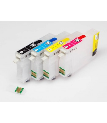 Cartucho de 220ml Ultrachrome Con Chip Compatible para EPSON 7400