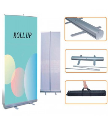 Pack Roll-Up 100cm + Polipropileno Satin 200µm VINILEA (10 ROLL-UPS + 1 BOBINA)