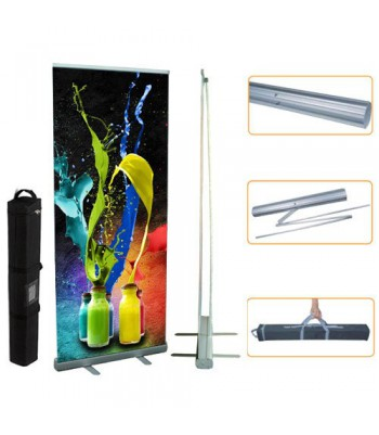 Pack Roll-Up 85cm + Polipropileno Satin 200µm VINILEA (10 ROLL-UPS + 1 BOBINA)