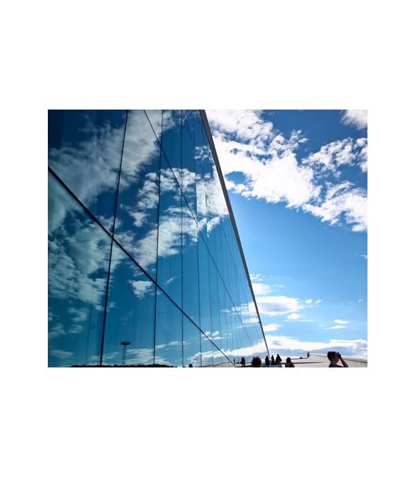 Lámina Control Solar Efecto Espejo Especial Edificios, Oficinas, etc... VINILEA