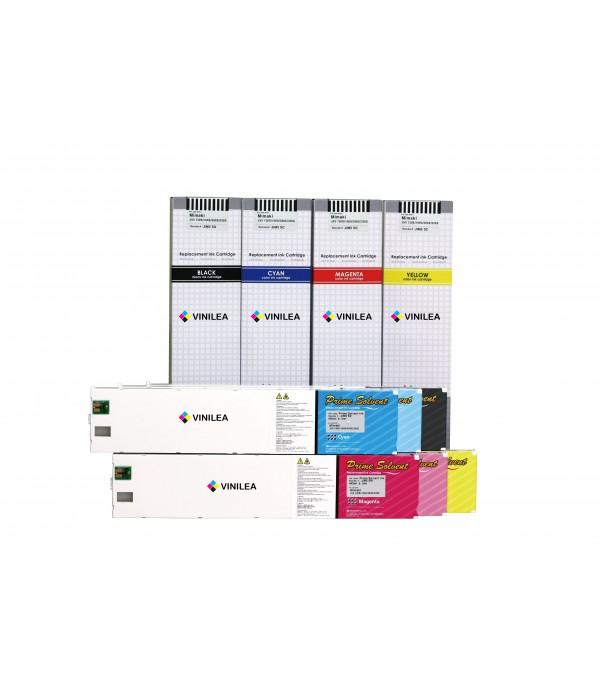 Cartucho Eco-solvente compatible para MUTOH RHII, III y Valuajet